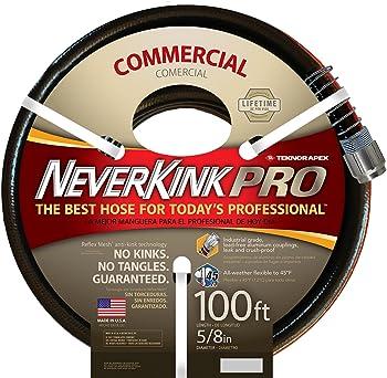 Teknor Neverkink Commercial-Duty 100-Foot Garden Hose