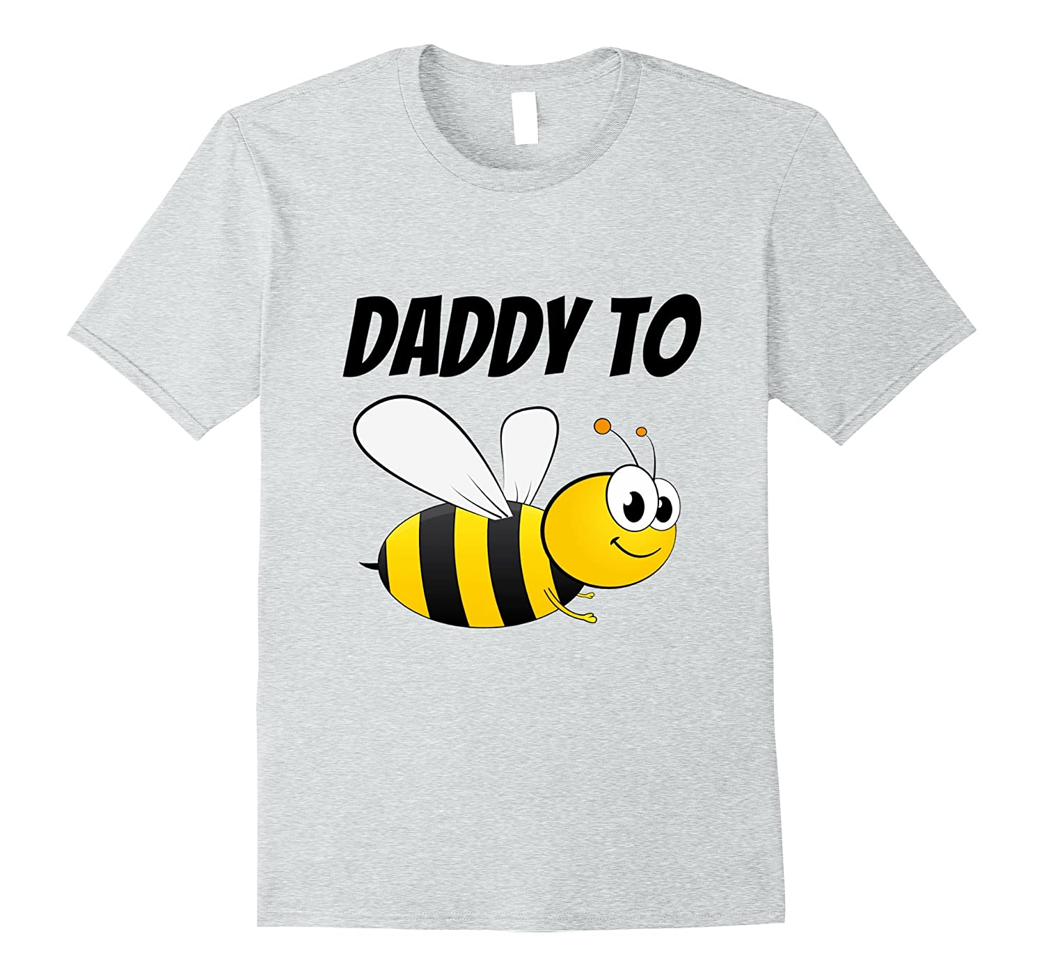 Mens Daddy to Bee Funny Pregnancy Announcement T-shirt-FL