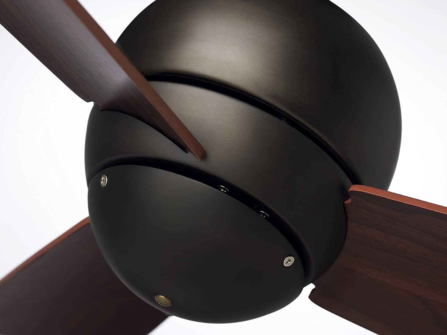Emerson Ceiling Fans CF130ORB Tilo Modern Low Profile Hugger Indoor Outdoor Ceiling Fan, Damp Rated, 30-Inch Blades, Light Kit Adaptable, Oil Rubbed Bronze Finish