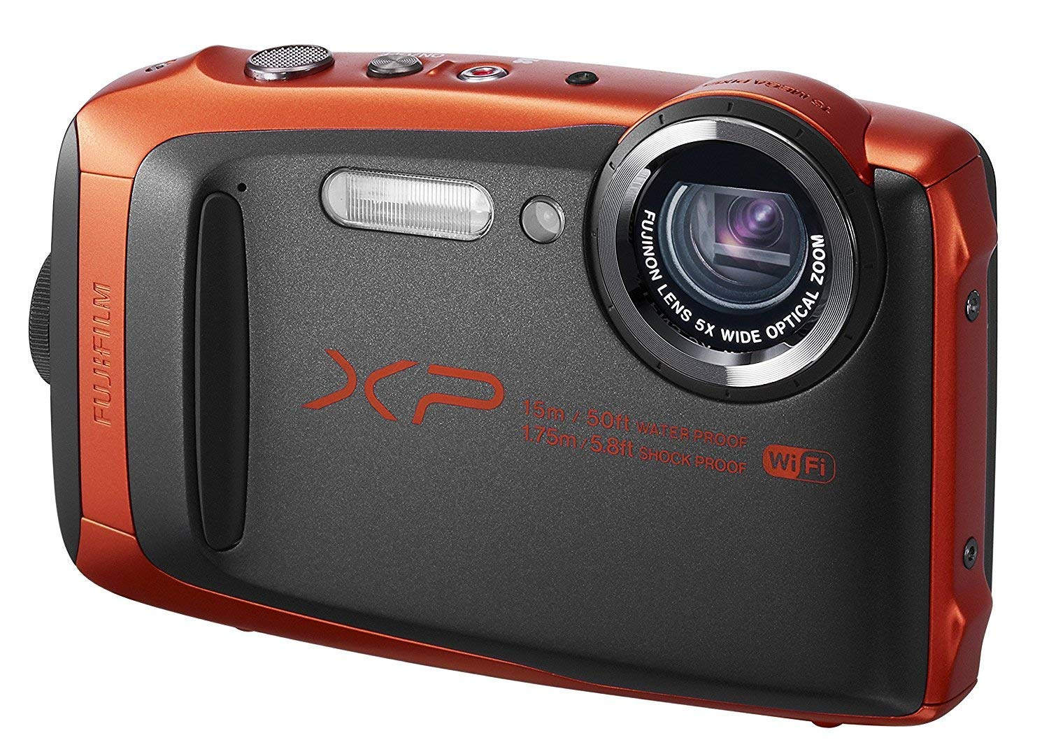 Fujifilm FinePix XP90 Digital Camera (Renewed) (Orange) by Fujifilm