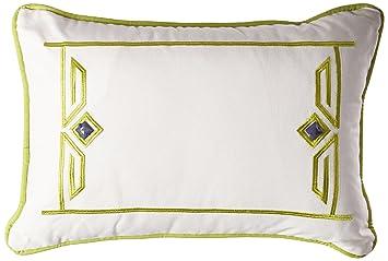 Amazoncom Echo Sardinia Fashion Cotton Throw Pillow For Bed