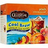Celestial Seasonings Peach Cool Brew Iced Black Tea Bags - 40 ct