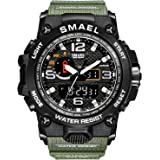 Relojes para Hombre Militar Sport Sport Watch 50m Relojes De Pulsera Impermeables
