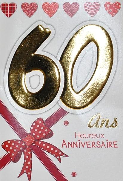 Age MV 69 - 2038 tarjeta cumpleaños 60 años mujer motivo ...