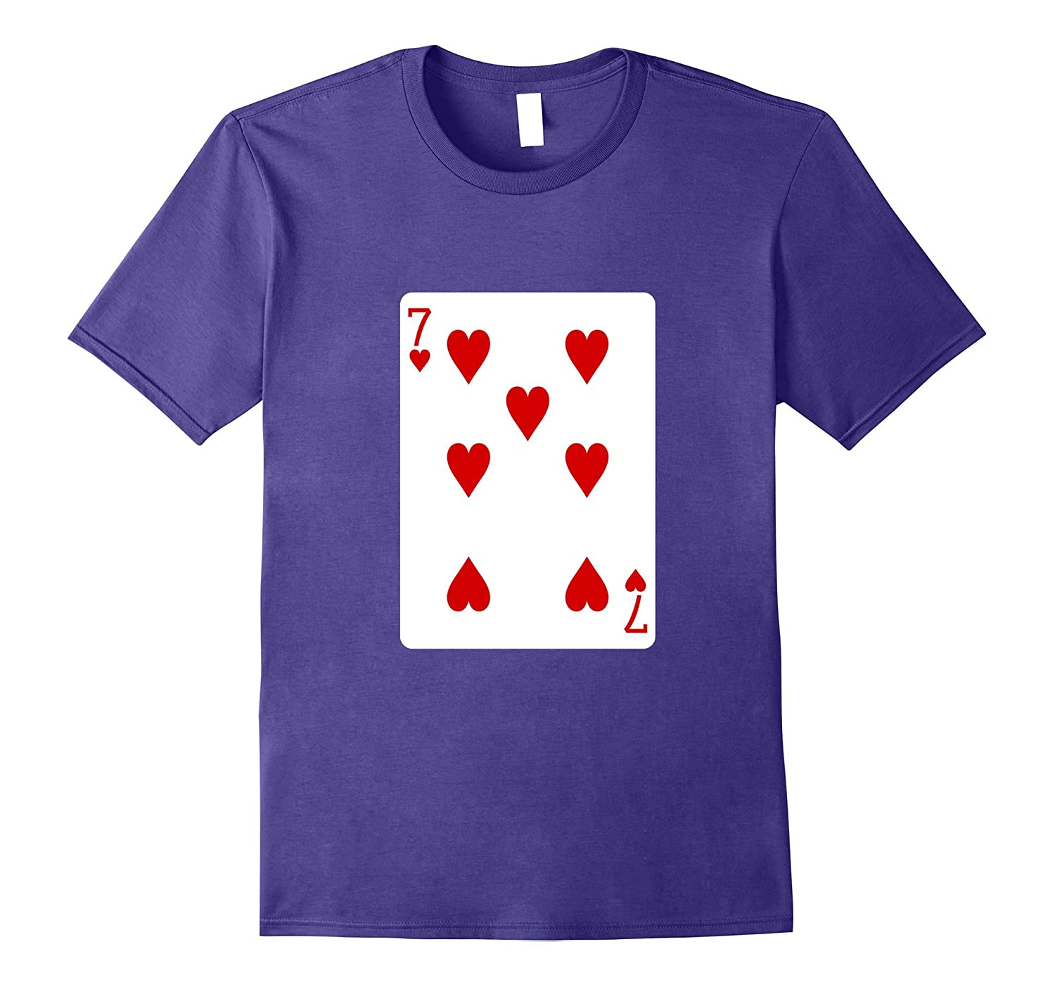 Seven Of Hearts Card