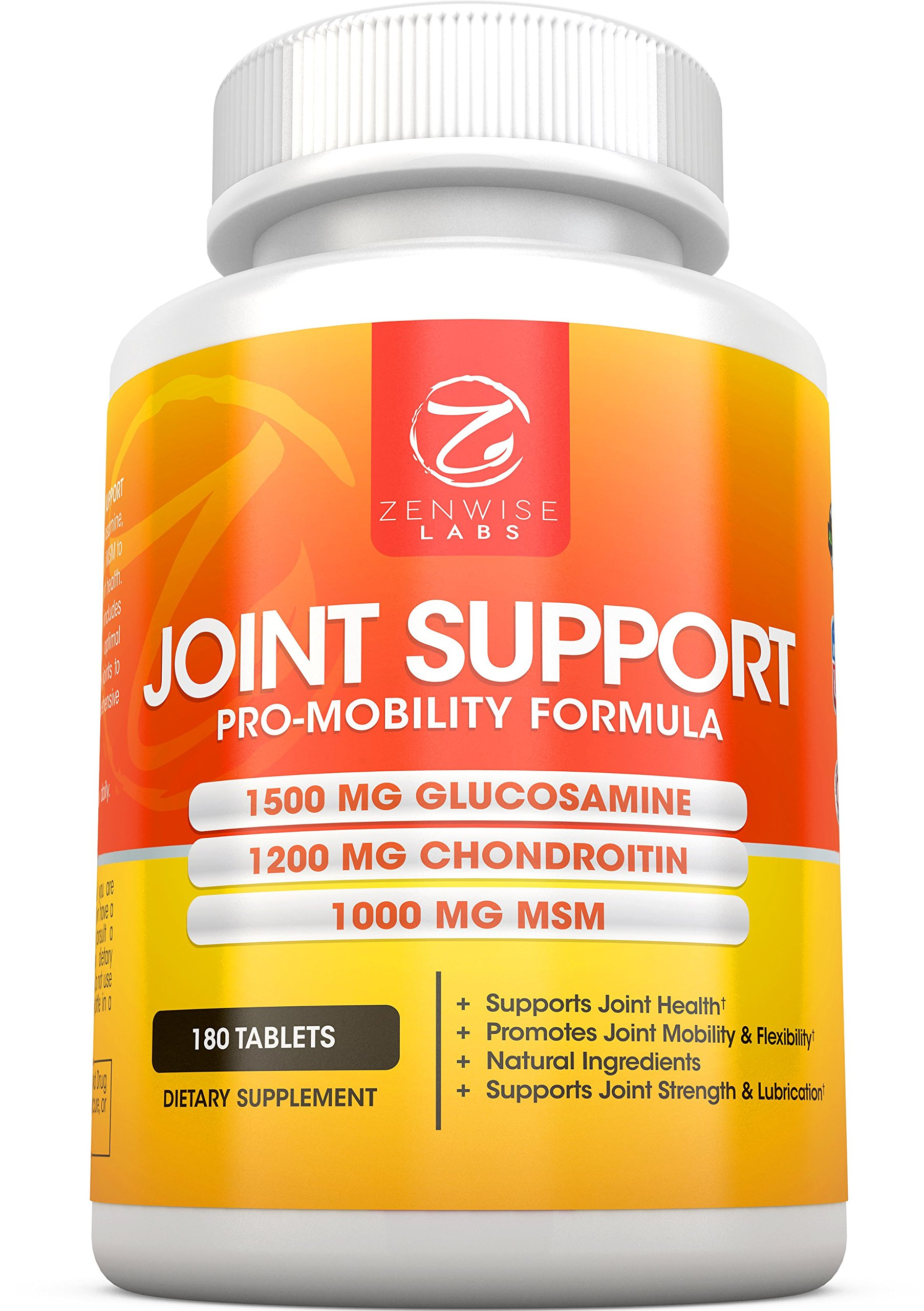 Joint Support Supplement - Complex With 1500Mg Glucosamine 1200Mg Chondroitin.. 12