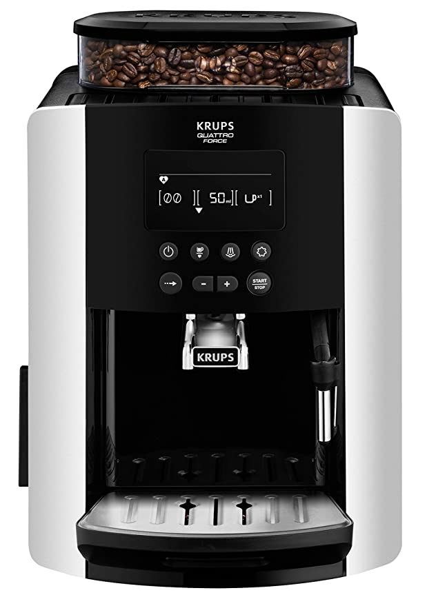 Krups EA817810 Independiente Totalmente automática Máquina ...