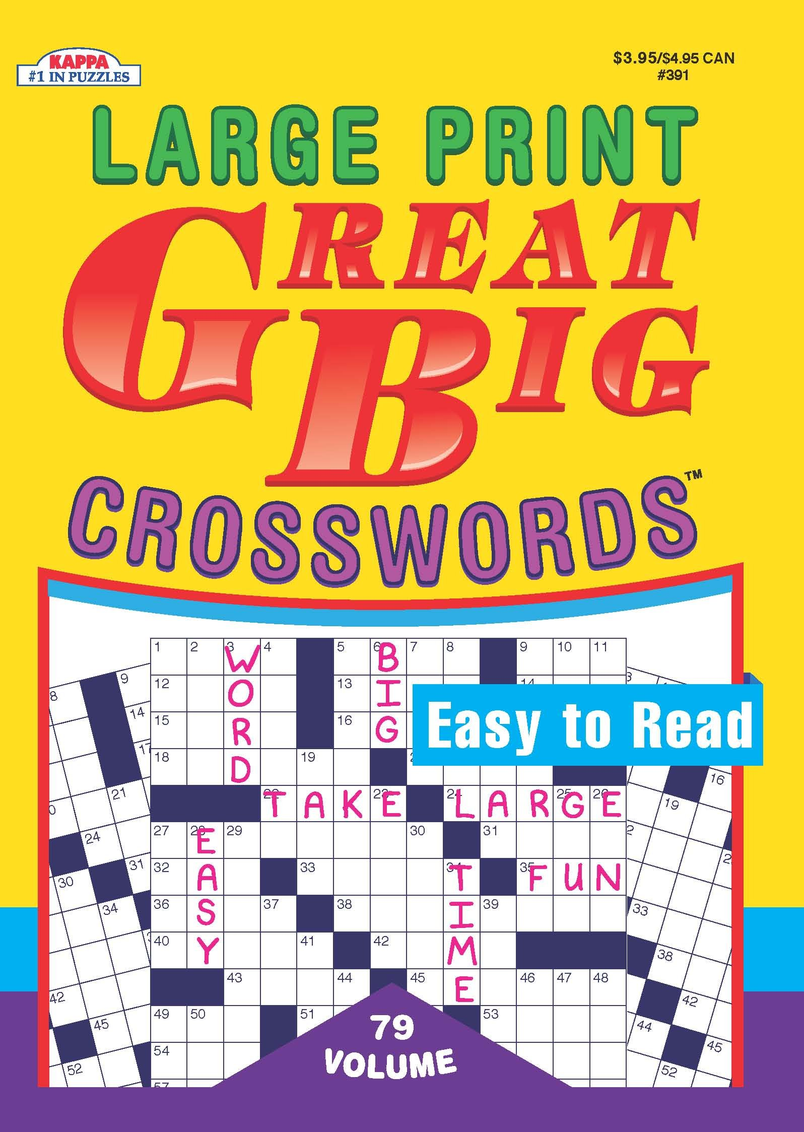 Great Big Crosswords Puzzle Book-Volume 79 pdf epub