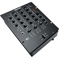 Numark M4 - Mezclador de DJ de 3 Canales Especial para Scratch, Instalable en Rack, con Ecualización de 3 Bandas, Entrada de Micrófono y Crossfader Reemplazable con Controles de Inversión y Curva
