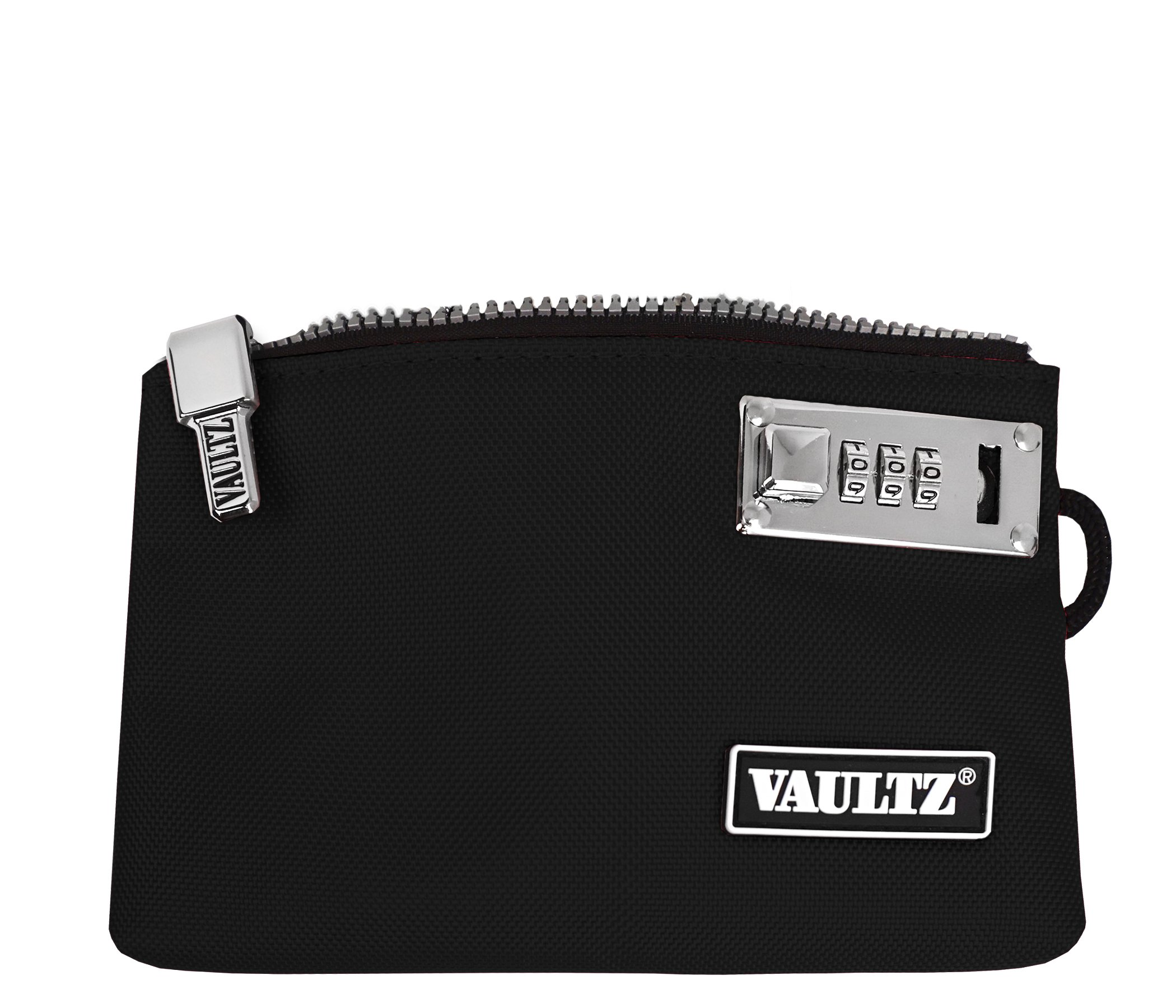 VaporVaultz Locking Accessory Pouch, 1 x 5.x 8 Inches, Black (VZ00503)