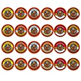 Crazy Cups Flavored Coffee, Single Serve Cups Variety Pack Sampler for the Keurig K Cup Brewer, 24 count