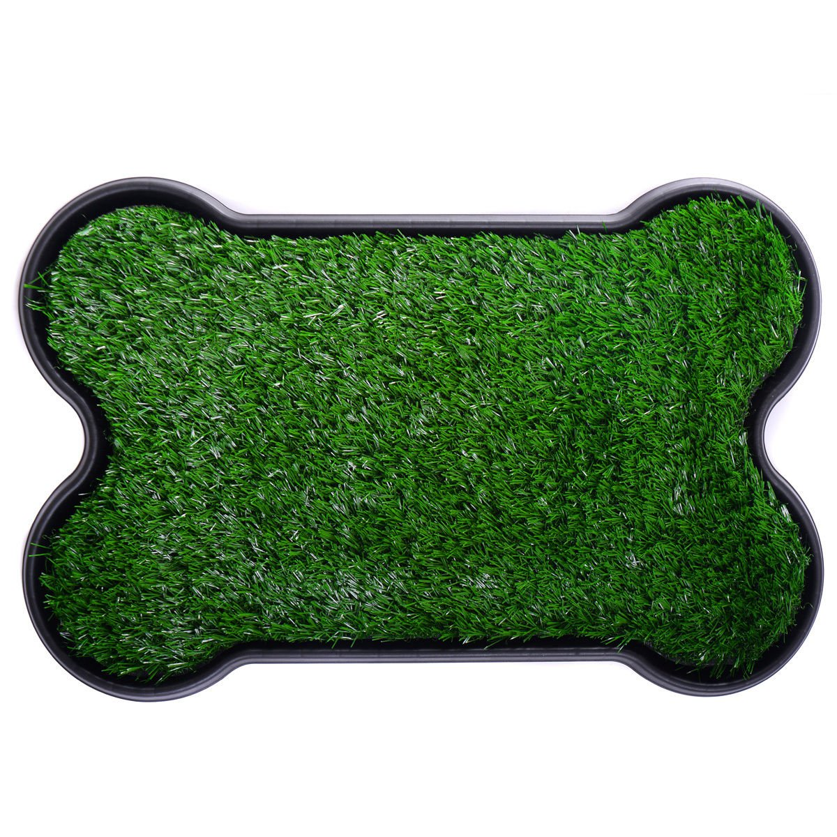Pet Dog Toilet Trainer Grass Mat Potty Pad Urinary Indoor House Litter Tray