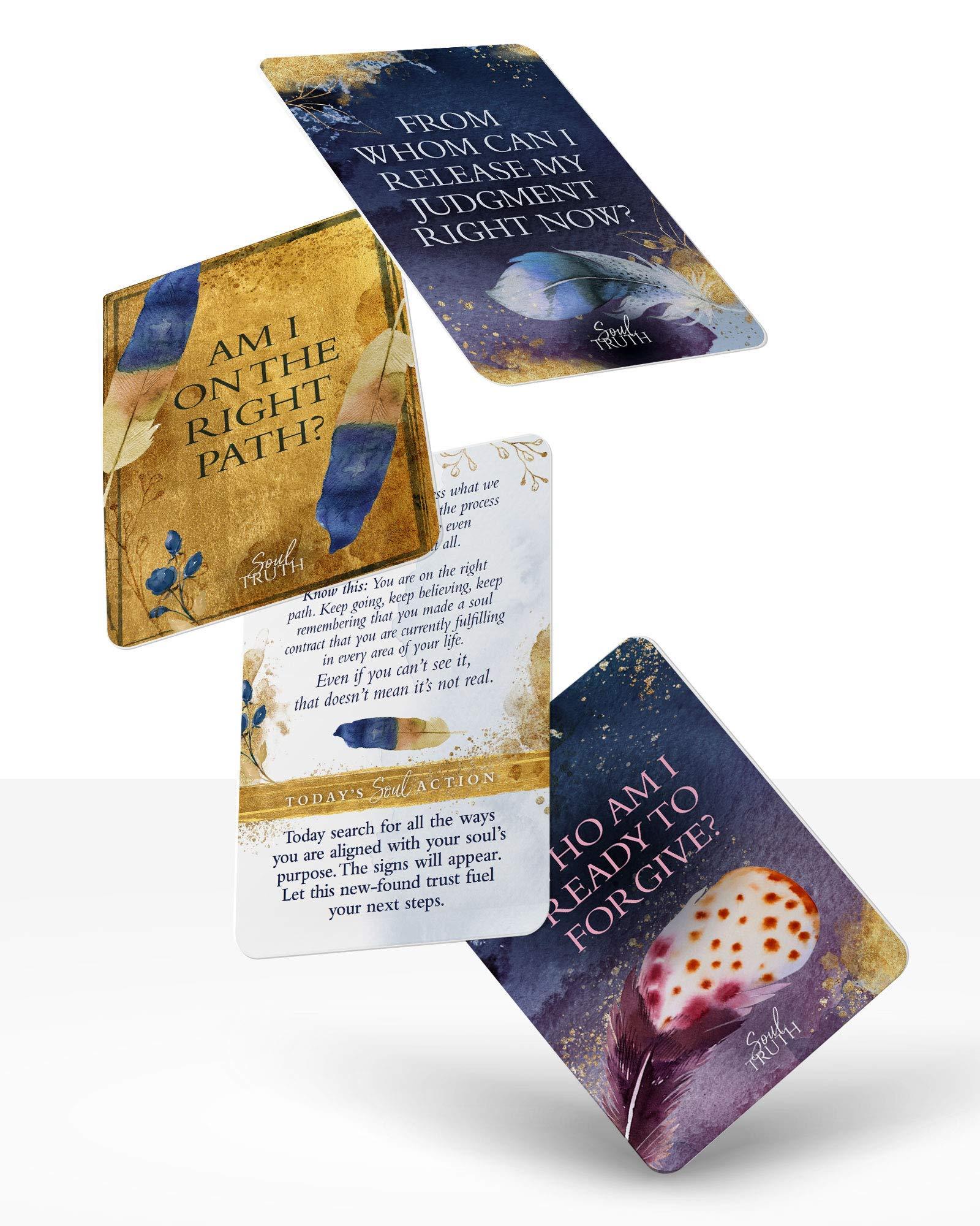 Soul Truth Self-Awareness Card Deck: Brianne Hovey, Gheen Hillman: Amazon.com: Books