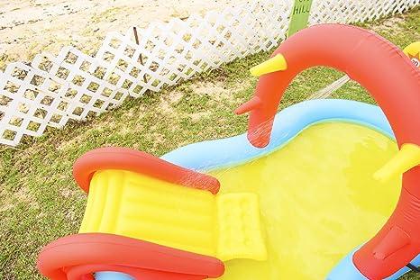 Slidding Spray Pool Kinderpool Planschbecken Schwimmbecken Wasserspritze Rutsche