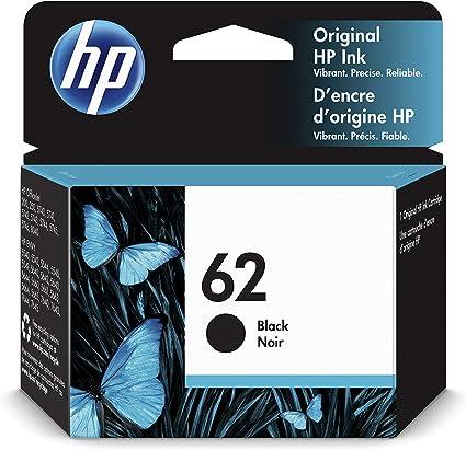 Oferta amazon: HP 62 C2P04AE, Cartucho Original de tinta negro, compatible con impresoras de inyección de tinta HP ENVY 5540, 5640, 7640;OfficeJet 200, 250, 5740