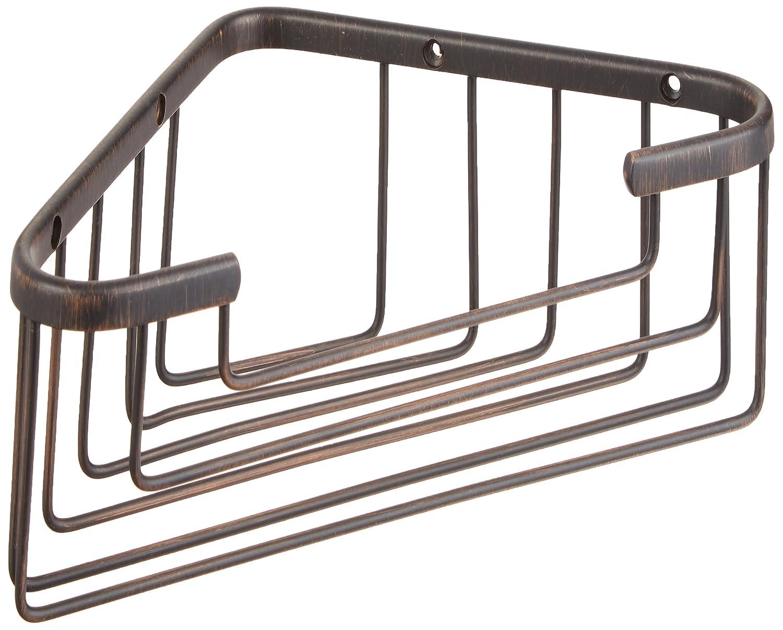 Allied真鍮Largeソリッドコーナーシャワーバスケット BSK-50ST-VB 1 B003XROJM2 ベネチアンブロンズ ベネチアンブロンズ