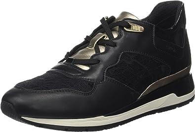 Maquinilla de afeitar heroína Interpretación  Geox D Shahira B, Zapatillas, Negro (Black), 35 EU: Amazon.es: Zapatos y  complementos