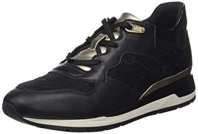 Chaussures Geox Shahira noires Casual femme MGlXw2cf