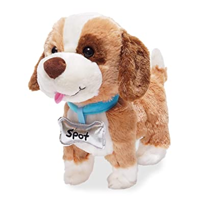 "Cuddle Barn | My Favorite Pet Spot 10"" Puppy Animated Stuffed Animal Plush Toy for Kids 