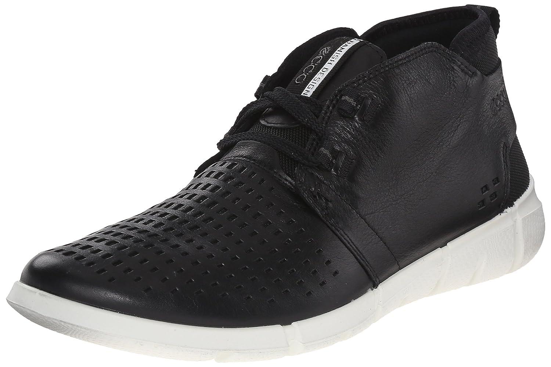 pretty nice f6215 eeeaa Ecco Men s Intrinsic Chukka Fashion Sneaker Sneaker Sneaker 46 M EU    12-12.5 D(M) US Black B0113PSBJW d9a55b