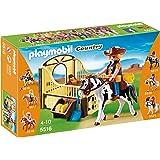 Playmobil - 5516 - Cheval Gypsy Cob et son paddock
