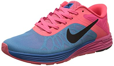 ef0eae59c86 low price nike mens lunarglide 6 black pink blue running shoes 7 uk india  aa937 e581a