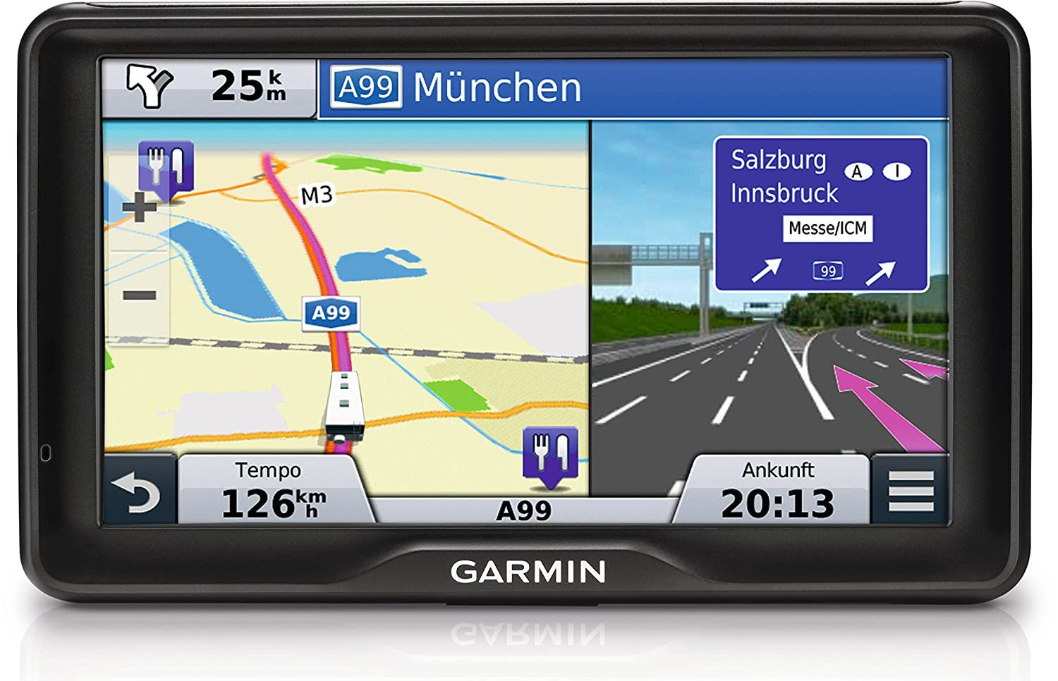 carte gps garmin pour camping car. Black Bedroom Furniture Sets. Home Design Ideas