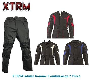 Moto hombres 2 pieza disfraz XTRM Pioneer chaquetas con ...