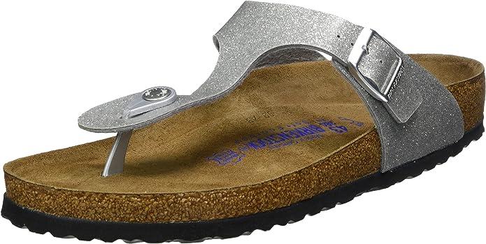 Details about Birkenstock Betula women's sandal shoe 7 pink snakeskin like jewels slip on