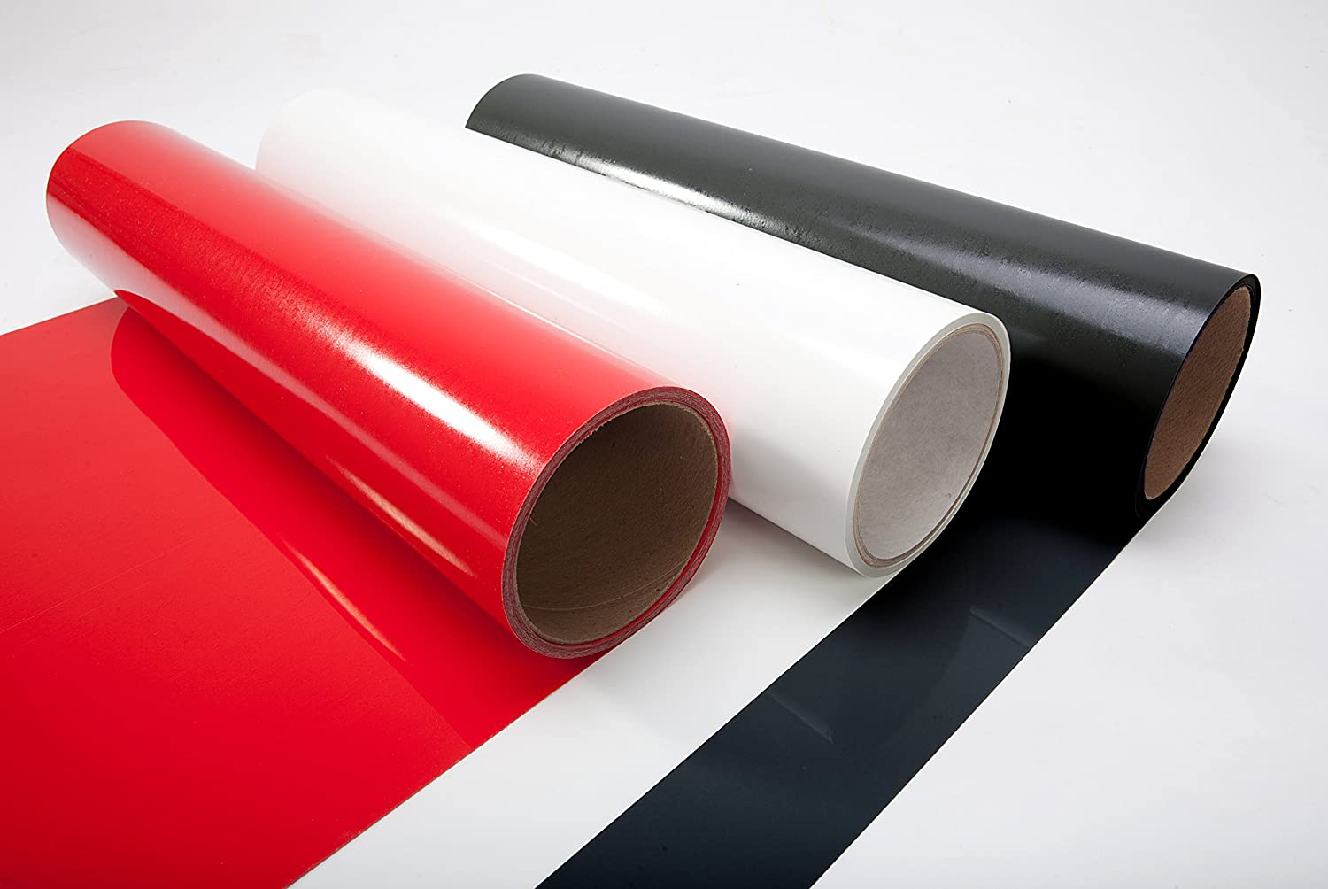 Black,White,red ORACAL 651 Multi-Color Vinyl 1ft x 5ft Roll Starter Kit Bundle for Cricut 3 Rolls + Transfer Paper Silhouette /& Cameo