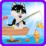 fishing cats - Cat Fishing - Kids Fishing Day