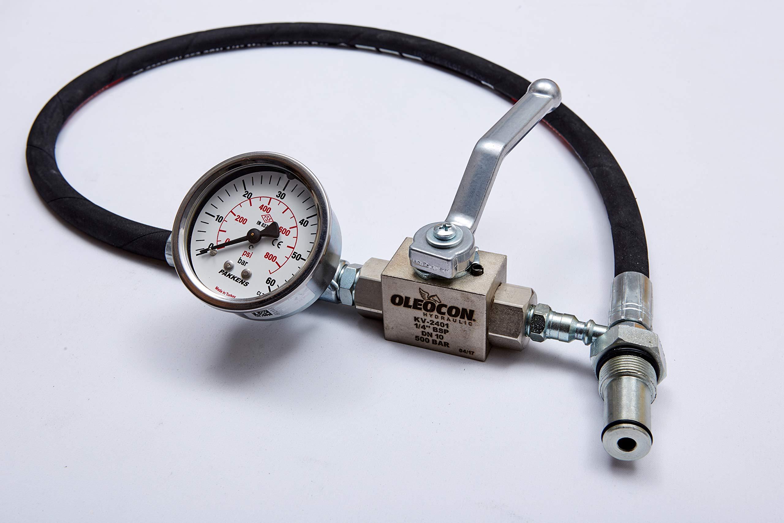 TR DIESEL Ford 6.0 Powerstroke High Pressure Oil System IPR Air Test Tool Special KIT II