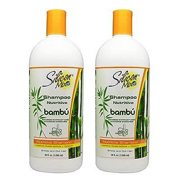 "Silicon Mix Bambu Shampoo 36oz ""Pack ..."