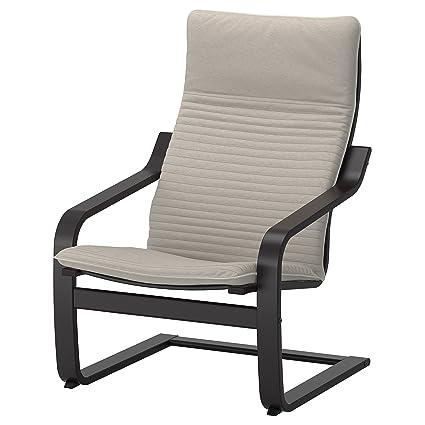Unbekannt Mecedora de IKEA Poäng en Negro marrón con ...