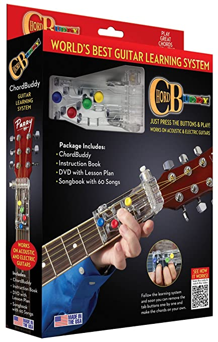 Amazon.com: ChordBuddy Chordbuddy Guitar Learning System and ...