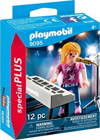 micro up new Playmobil accessory decor piano music synthesizer black