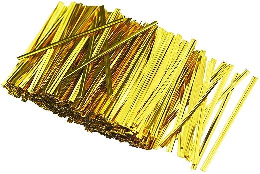 FiveSeasonStuff 800pcs Twist Ties/Fija Wraps para panes ...