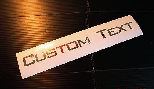 Car Windscreen Name Stickers Uk Kamos Sticker - Custom car vinyl stickers uk