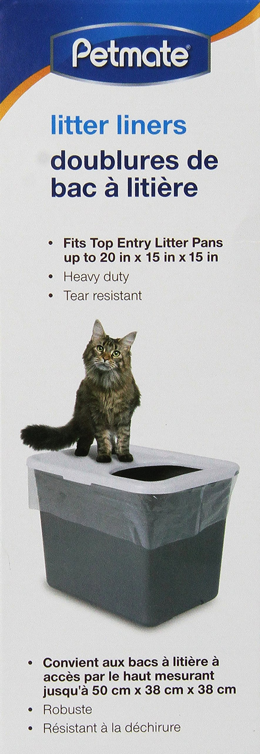 Petmate Top Entry Litter Pan Liners 10