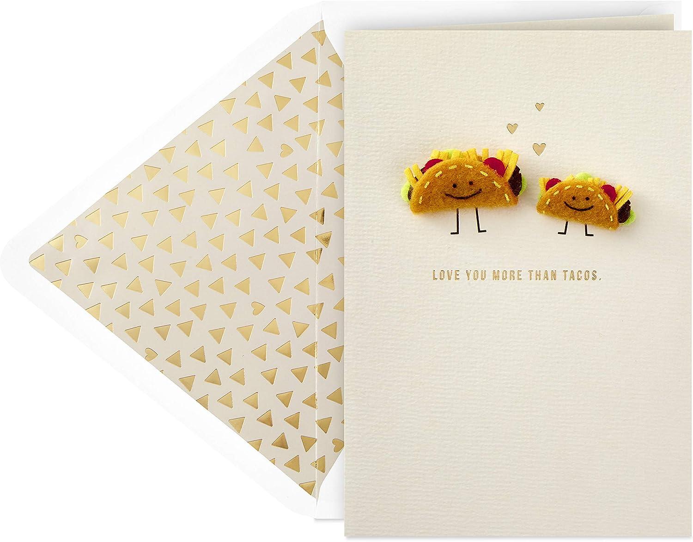 Hallmark Signature Mothers Day Card (Tacos) (799MBC1047)