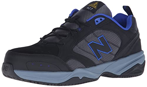 1692e22e7c724 New Balance Mens Steel Toe 627 Suede Cross-Trainer Shoe: New Balance ...