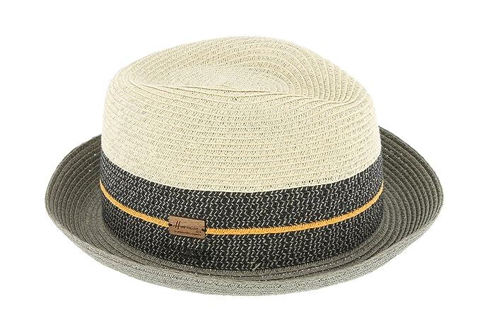 Cappello paglia beige e nero Timmy Herman Headwear - Misto beige 59  Amazon. it  Abbigliamento a4d601180c28