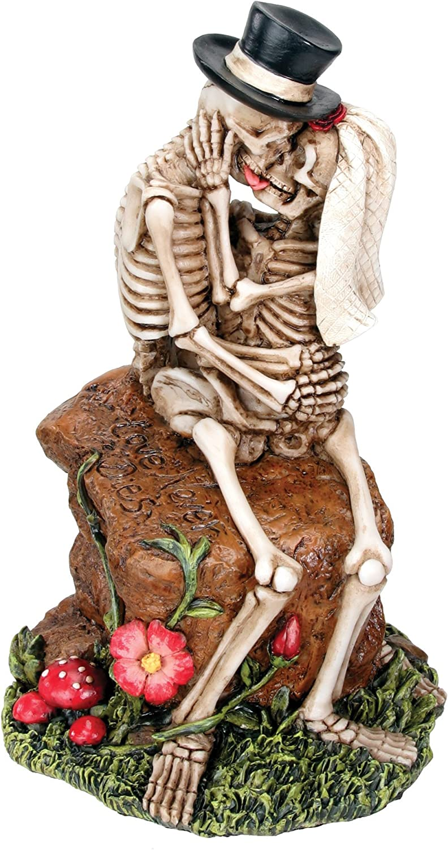 Love Rocks Collectible Skeleton Figurine