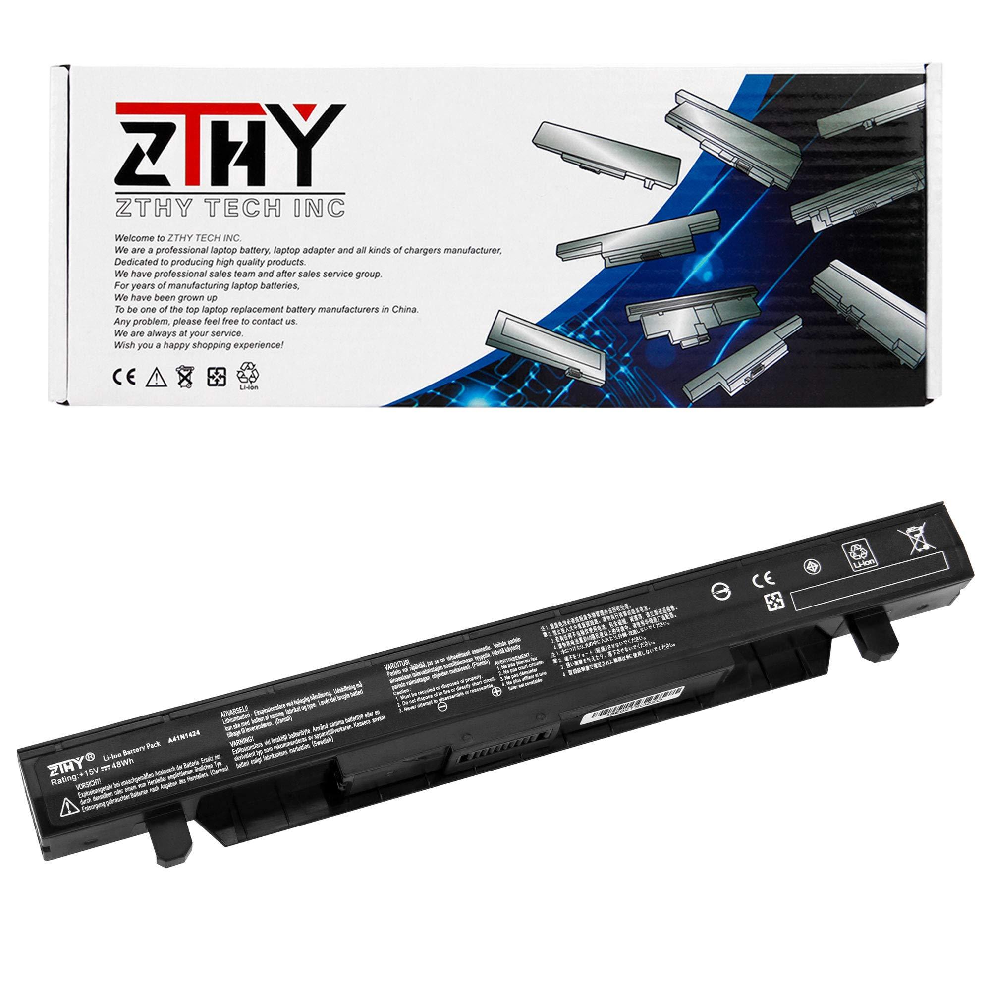 Bateria Zthy A41n1424 Para Asus Rog Gl552 Gl552v Gl552vw Gl552j Gl552jx Zx50v Zx50vw Zx50jx X50j Zx50 Jx4200 Jx4720 Fx-p