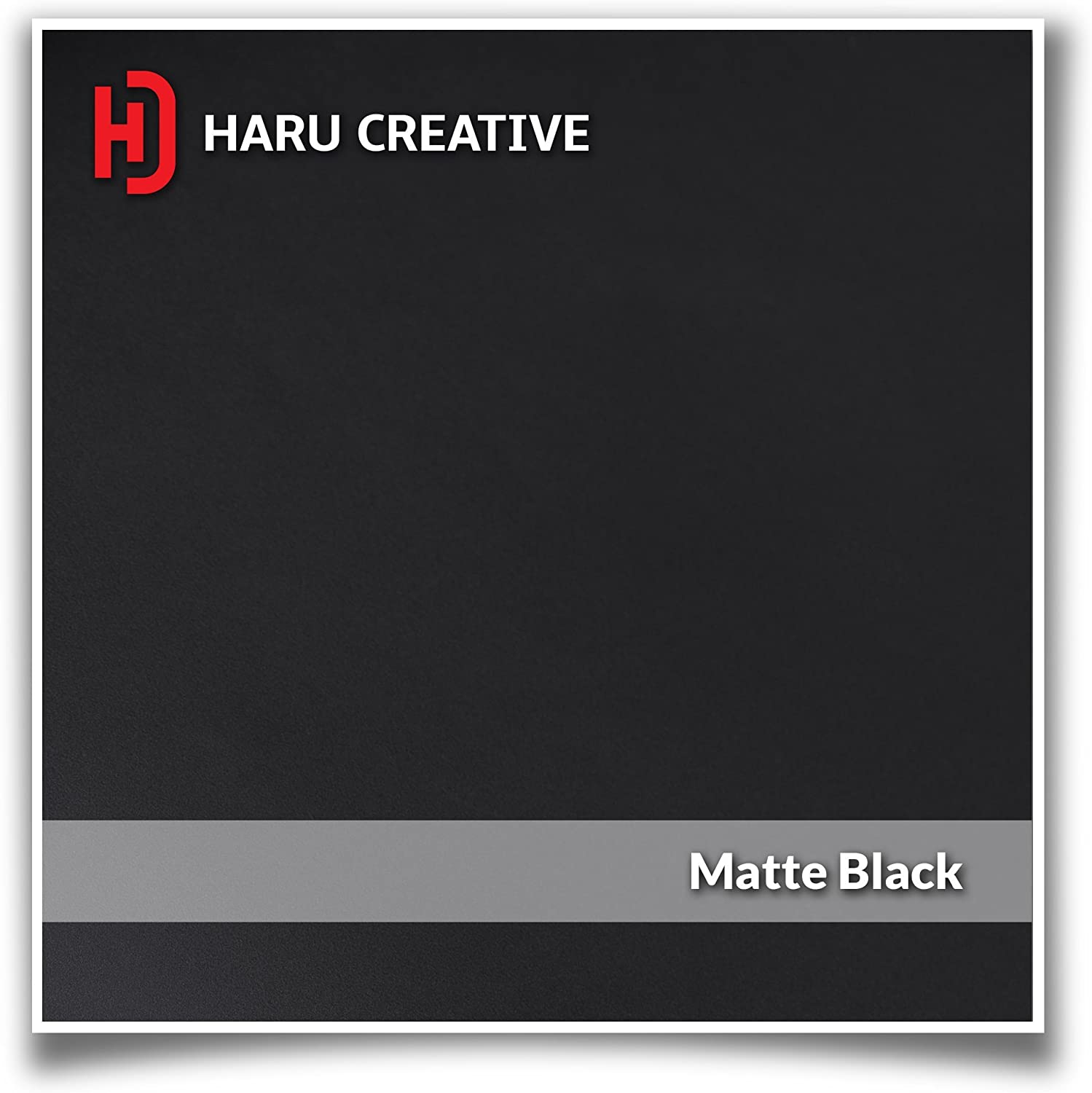 Haru Creative Matte Black Rear Trunk Tailgate Letter Insert Decal Sticker Compatible with and Fits Toyota Tacoma 2016 2017 2018 2019