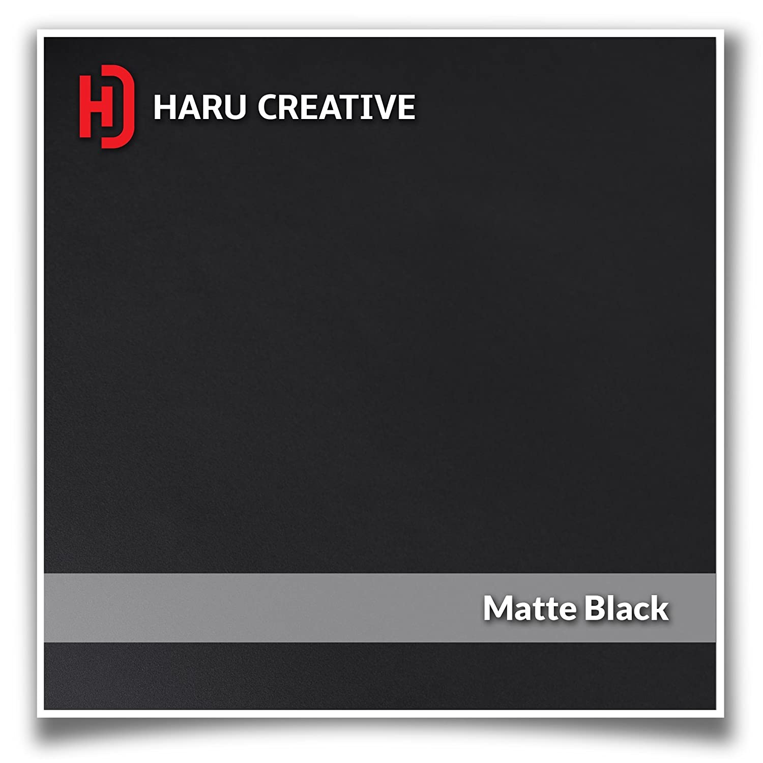 Matte Black Loyo Haru Creative Dashboard Glove Box Letter Insert Overlay Vinyl Decal Compatible with and Fits 2017 2018 Ford Super Duty F250 F350 F450