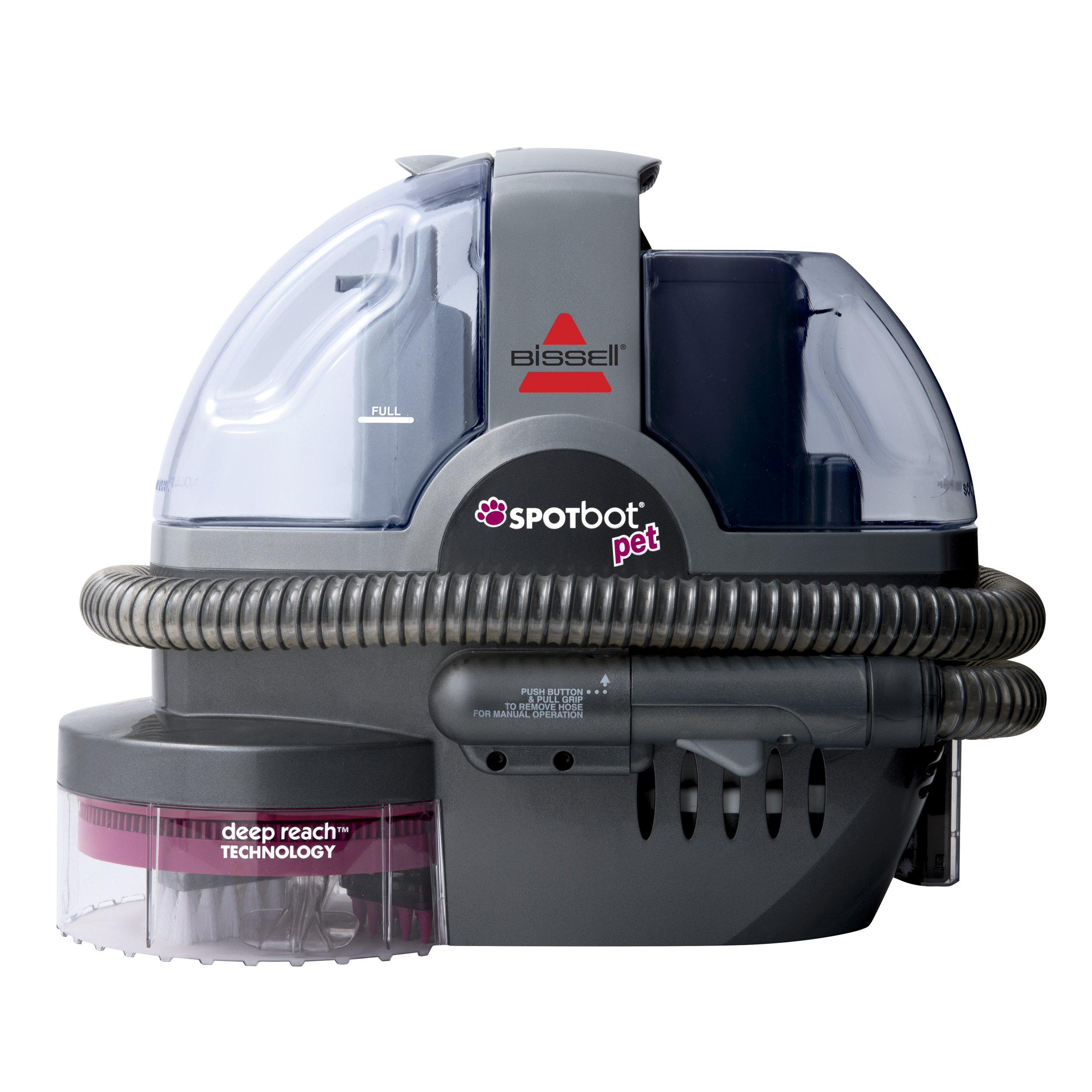 BISSELL SpotBot Pet Handsfree Spot and Stain Portable Carpet and Upholstery Cleaner, 33N8A by Bissell