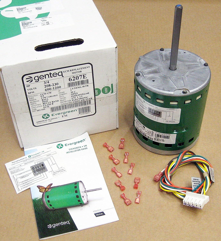 Electric Motor ECM Open Air-Over 3/4 HP