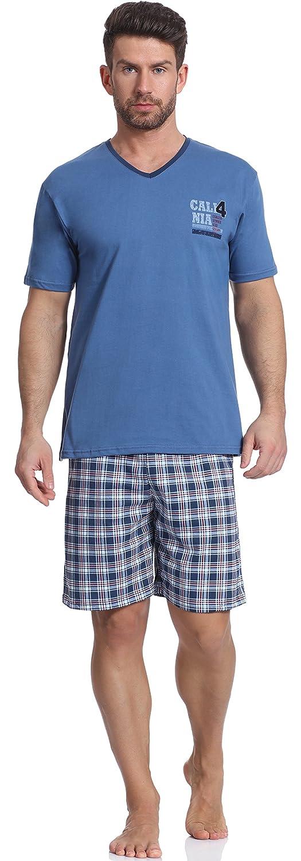 Cornette Pijama para Hombre CR 326 (Jeans/Marino, S): Amazon.es: Ropa y accesorios