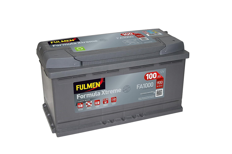 Fulmen FA1000 –  Baterí a para coche de 12 V, 100 Ah, 900 A 100Ah 900A 3661024044257